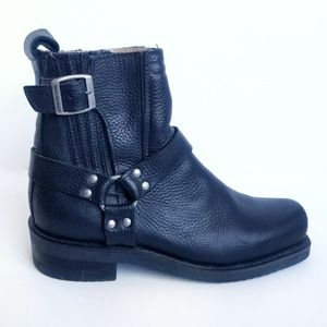 Harley-Davidson Vintage Style Motorcycle Boots